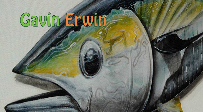 Gavin Erwin The Fish Artist