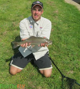Trout In Spring In South Africa