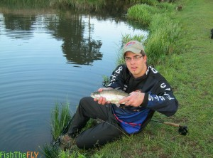 Gareth Roocroft Rainbow Trout On Nymph
