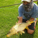 Carp Caught On Fly In Eastern Cape