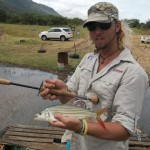 Catching Jozini Tigerfish On Fly