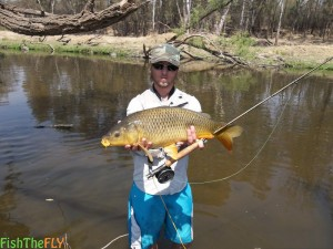 Fly Fishing For Carp On Fly