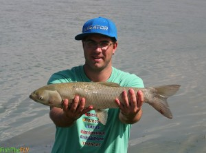 Grass Carp On Fly