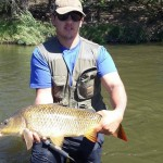 Jason Macintosh Carp On Fly