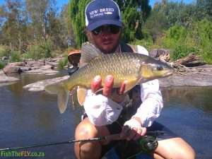 Yellowfish Caught While Nymphing